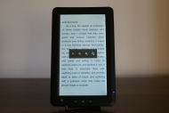 JWF eReader-6000 Font Sizes
