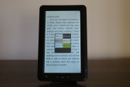 JWF eReader-6000 Reading Background (inc. night mode)