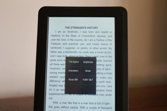JWF-eReader-6000-Menu-In-Book